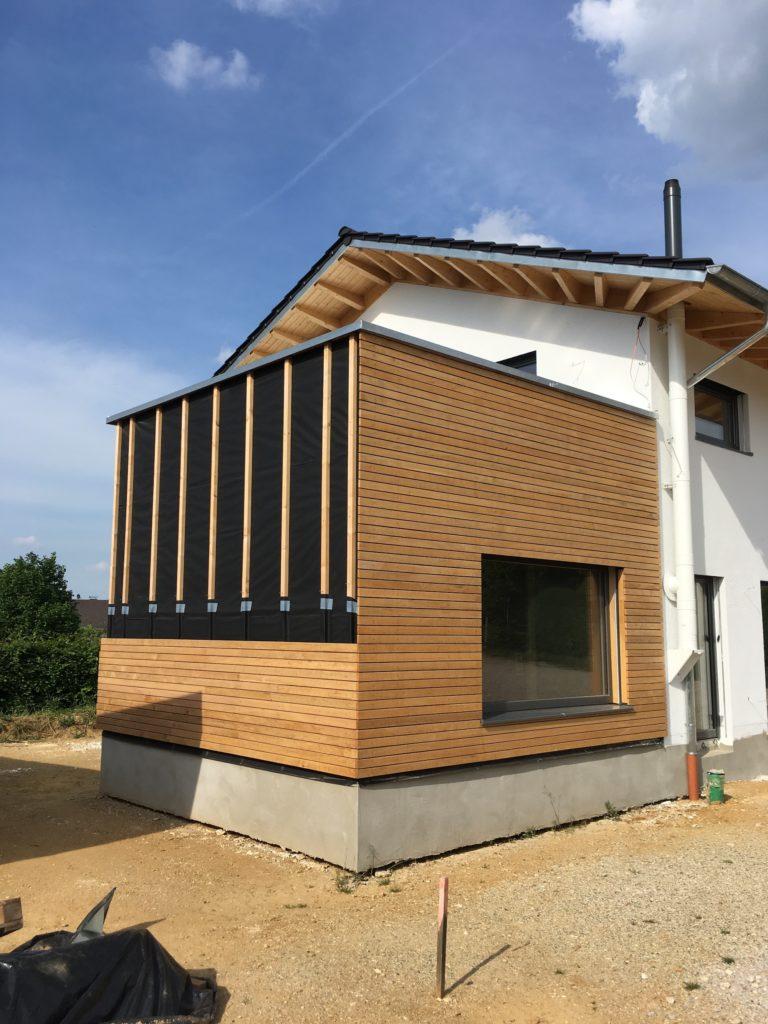 Fassade Haus Rhombusleisten